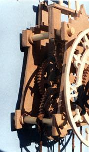 disegni per costruire orologi in legno