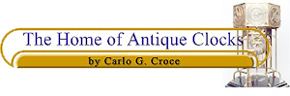 the home of antique clocks